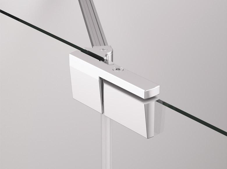 Výrazné tvary pantů jsou zcela v souladu s aktuálním trendem moderních designových koupelen