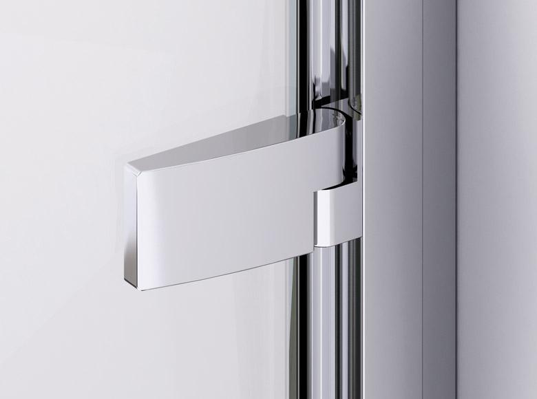 Zawias z funkcją unoszenia drzwi zapobiega przedwczesnemu zużyciu się uszczelek