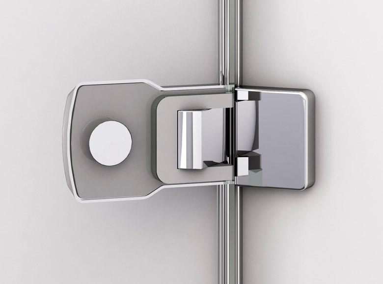 Подъемно-опускающийся механизм петель облегчает открывание дверей, снижает износ дверных уплотнений