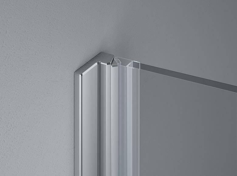 Magnetic closing profile