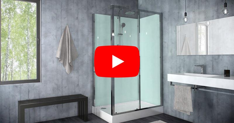 Sprchové kabiny MODUL