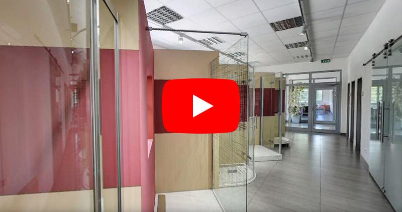 Vzorkovna sprchových zástěn a vaniček<br/>SanSwiss v Jičíně