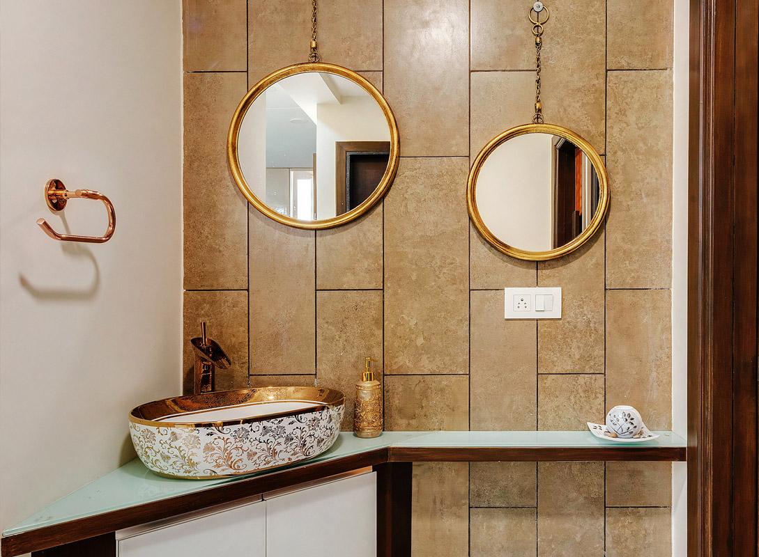 Elegant bathroom - ideas for the arrangement