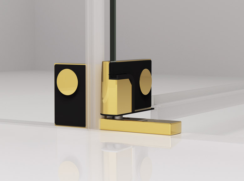 Hinges with lifting and lowering function