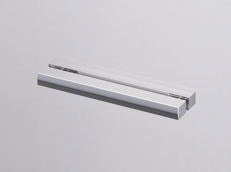 Der elegante Griff der D30 - für ein leichtes Öffnen der Duschanlage
