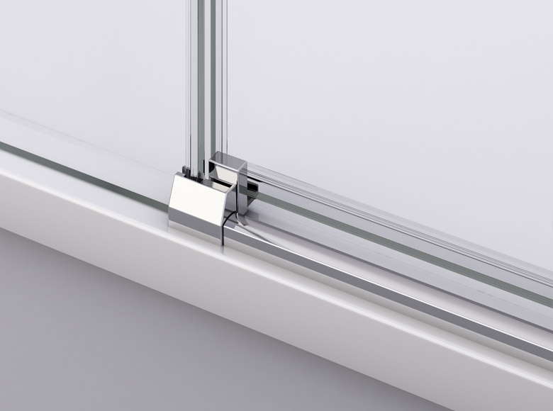 Practic și util : sistemul de rabatare al ușilor culisante