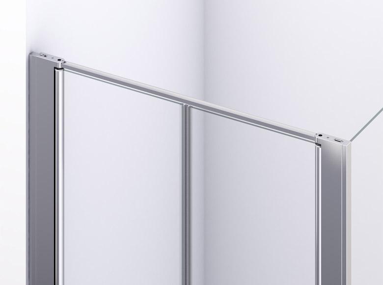 Profil de fixare la perete la uşa pliabilă culisantă
