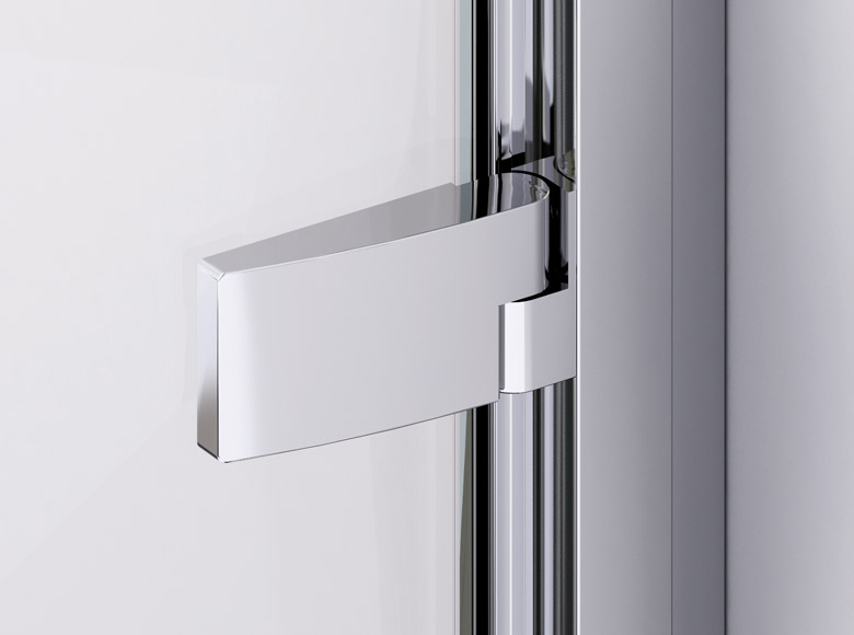 Lifting and lowering function facilitates the opening of the door and prevents premature wear of the door seals