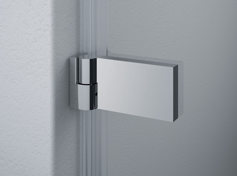 Square wall hinge