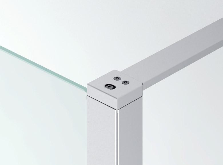 Соединение между боковой стенкой и стабилизирующей распоркой