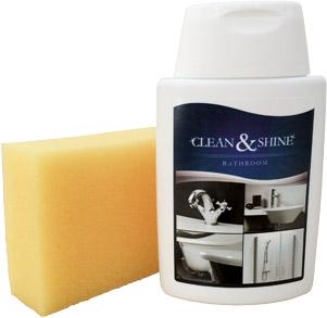 CLEAN & SHINE - паста для очищення і захисту піддону з литого мармуру